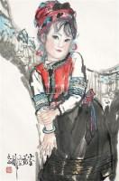 小金花 镜片 纸本 - 115997 - 中国书画(二) - 2011春季艺术品拍卖会(一) -收藏网