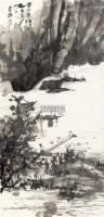 赤壁泛舟 立轴 设色纸本 - 张大千 - 中国书画(二) - 2011夏拍艺术品拍卖会 -收藏网