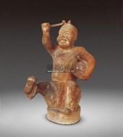 鼓乐陶俑 -  - 瓷器 - 2011中博香港大型艺术品拍卖会 -收藏网