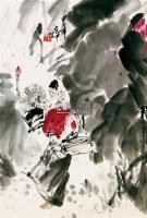 人物 镜片 纸本 - 117590 - 中国书画 - 2011春季艺术品拍卖会 -收藏网