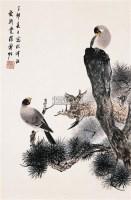 花鸟 立轴 纸本设色 - 溥佐 - 中国书画 - 2005年春季拍卖会 -收藏网