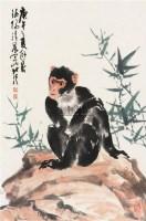 墨猴 镜心 设色纸本 - 13390 - 中国书画 - 2007年秋季大型艺术品拍卖会 -中国收藏网