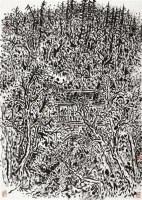 山水 镜心 纸本 - 崔振宽 - 中国书画六 - 嘉德四季第二十五期拍卖会 -收藏网