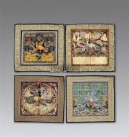 文官补子 (二十五件) -  - 瓷器工艺品 - 2011夏季艺术品拍卖会 -收藏网
