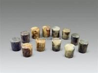 旧玉轴头 -  - 古董珍玩 - 2011年春季艺术品拍卖会 -收藏网