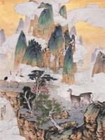 郑力 鹤鸣九皋 - 119087 - 中国书画 - 2006年中国艺术品春季拍卖会 -收藏网