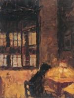 罗工柳 1979年作 工作室 布面油画 - 2434 - 中国传统油画 - 2006秋季艺术品拍卖会 -中国收藏网