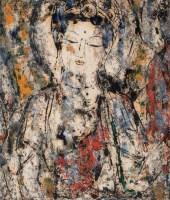 孔柏基   菩萨 - 139822 - 油画 - 2007季春第57期拍卖会 -收藏网