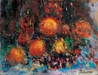 友好 油彩 画布 - 157717 - 现代与当代艺术 - 2011台北秋季拍卖会 -中国收藏网