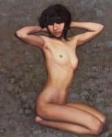 王路 人体 油画 - 王路 - 油画专场 - 2006首届艺术品拍卖会 -收藏网