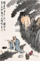 罗汉图 镜片 设色纸本 - 56035 - 书画专场 - 2011年夏季艺术品拍卖会 -中国收藏网