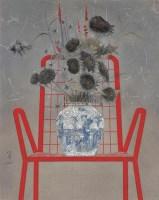 China2006 No[1].6 布面  丙烯 - 刘明孝 - 油画 版画 - 2006秋季艺术品拍卖会 -收藏网