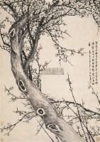 雪后寻梅 立轴 水墨纸本 - 高翔 - 中国古代书画 - 2005秋季艺术品拍卖会 -收藏网
