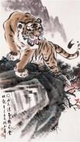 浩然正气 镜心 设色纸本 - 姚少华 - 中国书画 - 2005春季艺术品拍卖会 -收藏网