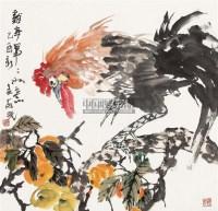 花鸟 镜心 设色纸本 - 6285 - 中国书画(一)—齐鲁集萃 - 2011春季艺术品拍卖会 -收藏网