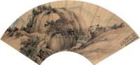 山水 镜心 设色纸本 - 李上达 - 中国书画 - 2008金秋拍卖会 -收藏网
