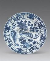 青花花鸟纹盘 -  - 瓷玉珍玩 - 2006年迎春拍卖会 -收藏网