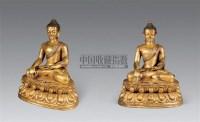 18世纪 铜镏金不动佛坐像 -  - 雪域佛光 - 2007年秋季艺术品拍卖会 -收藏网
