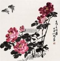 春色满园 镜心 设色纸本 - 周之林 - 中国书画 古籍碑帖 - 2007春季艺术品拍卖会 -收藏网