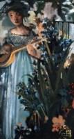如歌的岁月 布面油画 - 127707 - 中国油画 - 2005秋季大型艺术品拍卖会 -收藏网