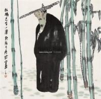 人物 镜心 设色纸本 - 119214 - 中国书画 - 第117期月末拍卖会 -中国收藏网