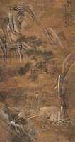 吴青霞 1929年作 高士携林杖 立轴 设色纸本 - 4433 - 中国书画(二) - 2006秋季艺术品拍卖会 -收藏网