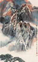 云山雾照图 立轴 设色纸本 - 4513 - 中国书画 - 2011年迎春拍卖会 -中国收藏网
