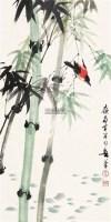 花鸟 立轴 设色纸本 - 4629 - 中国书画一 - 2011年秋季大型艺术品拍卖会 -收藏网