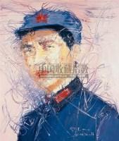 曾梵志 2005年作 毛泽东 - 155039 - 亚洲当代艺术 - 2007春季艺术品拍卖会 -收藏网