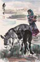 人物 立轴 纸本 - 7693 - 中国书画 - 2011中国艺术品拍卖会 -收藏网