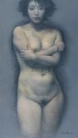 朱毅勇 印象·印象 布面油画 - 155435 - 中国油画 - 2006秋季艺术品拍卖会 -收藏网