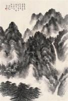 山水 镜片 水墨纸本 -  - 书画专场 - 2011年夏季艺术品拍卖会 -收藏网
