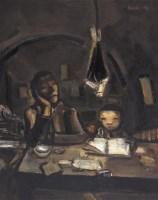 儿子 布面油画 - 段正渠 - 中国当代艺术 - 大海航行—中国当代艺术秋季拍卖会 -收藏网