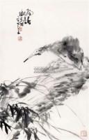 鹭鸶 镜片 纸本 - 123368 - 中国书画(一) - 2011春季艺术品拍卖会 -收藏网