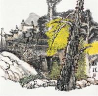 山水 立轴 - 4451 - 中国书画 - 2011金色时光文物艺术品专场拍卖会 -收藏网