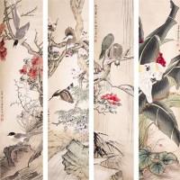 田世光花鸟四屏 -  - 书画 - 2008迎春书画艺术精品拍卖会 -收藏网