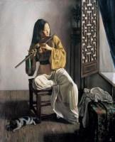 钟飙 间断 布面 油画 - 钟飙 - 中国油画 - 2006年秋季拍卖会 -收藏网