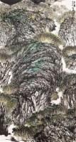 山之韵 镜心 设色纸本 - 18068 - 中国书画(一)当代专场 - 2011秋季艺术品拍卖会书画专场 -收藏网