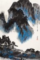 烟岚致爽 - 杨达林 - 中国书画 油画 - 华辰鉴藏(第12期)拍卖会 -中国收藏网