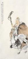 鹤寿图 立轴 设色纸本 - 139741 - 中国书画(一) - 2011年夏季拍卖会 -收藏网