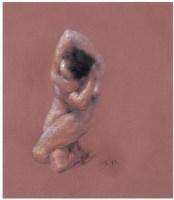 无题 纸本 色粉 - 夏小万 - 中国油画 雕塑 - 2007夏季拍卖会 -收藏网