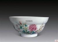 粉彩花卉碗 -  - 古董珍玩 - 2012年迎春拍卖会 -收藏网
