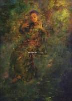 晚风 布面 油画 -  - 名家西画 当代艺术专场 - 2008年秋季艺术品拍卖会 -收藏网