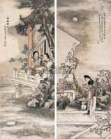 陈崇光 仕女 立轴 - 陈崇光 - 中国书画(二) - 2007年嘉德四季第十一期拍卖会 -收藏网