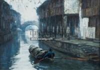 无题 油彩画布 - 153322 - 二十世纪中国艺术 - 2011年春季拍卖会 -收藏网