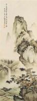 山水人物 立轴 - 陈少梅 - 中国书画 - 2011年秋季中国书画拍卖会 -收藏网