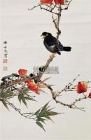 花鸟 立轴 纸本 - 田世光 - 中国书画 - 2011当代艺术品拍卖会 -收藏网