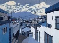 崔素荣 2004年作 远景 -  - 亚洲当代艺术 - 2007春季艺术品拍卖会 -收藏网