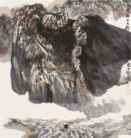 山水 立轴 设色纸本 - 4426 - 书画杂件 - 2007迎春文物艺术品拍卖会 -收藏网