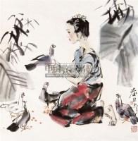 高春日 立轴 纸本 -  - 中国当代名家书画专场 - 2011年春季艺术品拍卖会 -收藏网